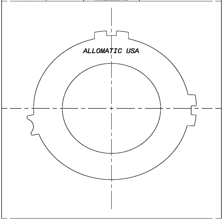 511448 | 1987-1993 Steel Clutch Plate 4th 4T60, 4T60E
