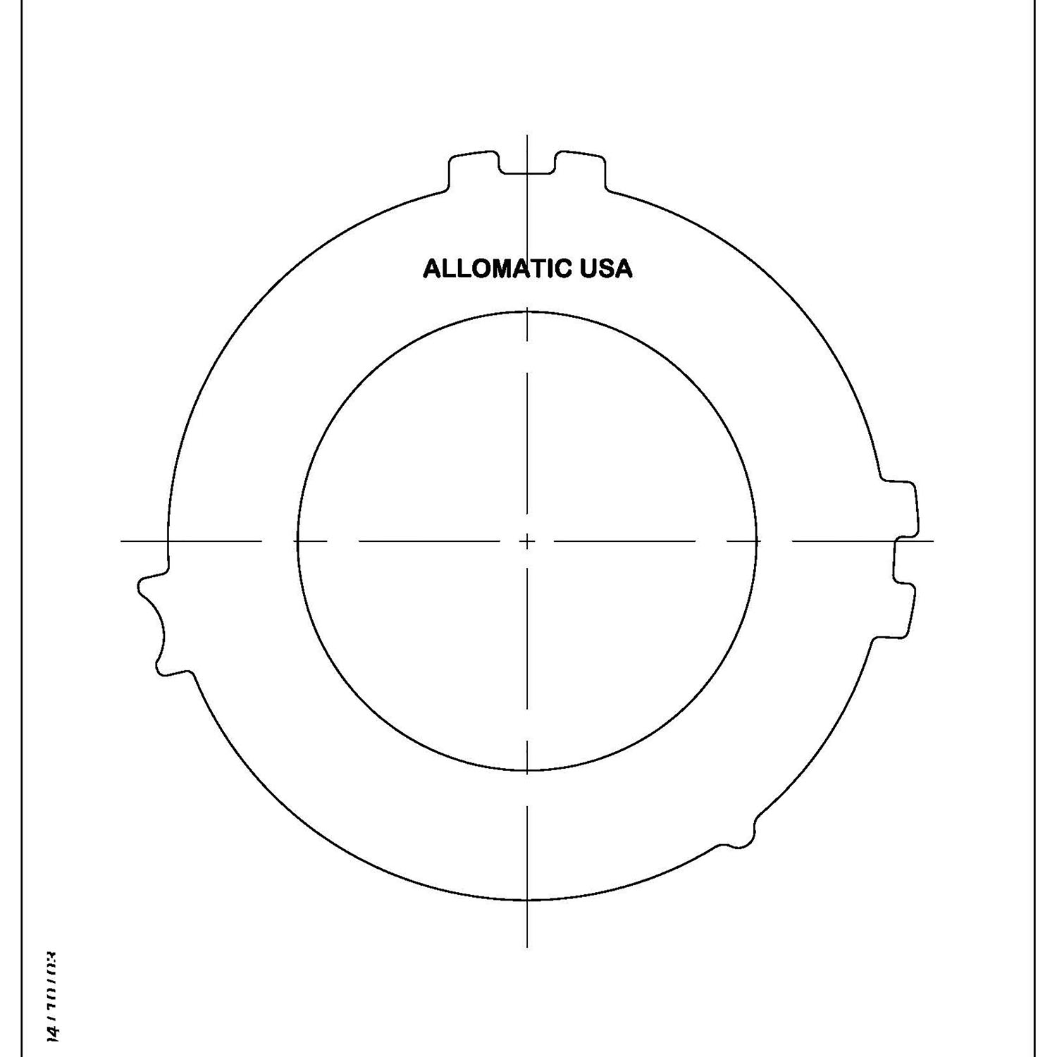 511454 | 1997-ON Steel Clutch Plate 4th Clutch (Except GM Paddle Shift or Volvo SS Clutch)