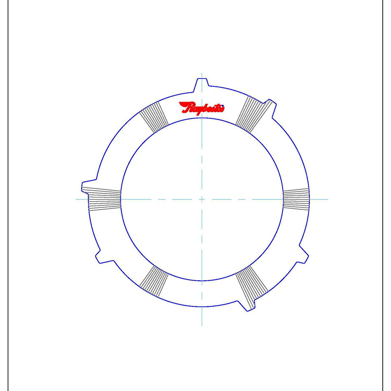 511457 | 1998-ON Steel Clutch Plate 3rd, Waved