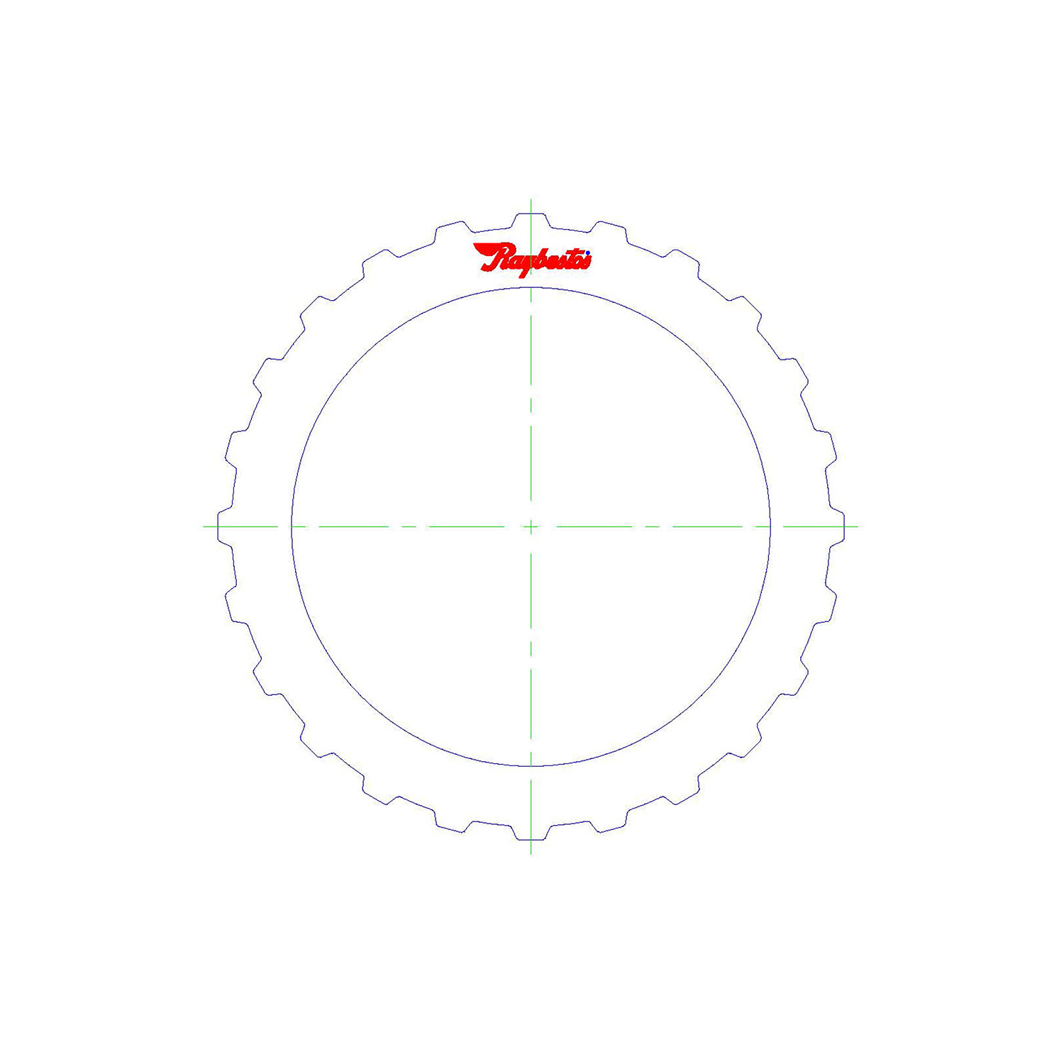 511474 | 1995-ON Steel Clutch Plate 3rd, 4th High Energy