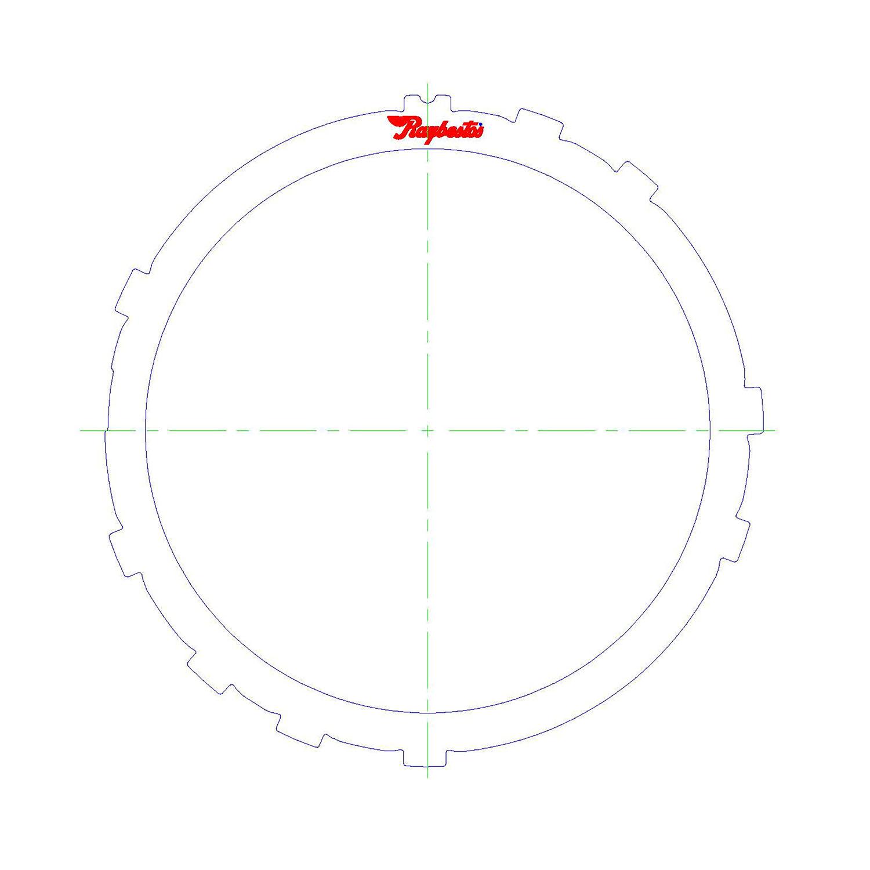 511476 | 1995-ON Steel Clutch Plate Low, Reverse