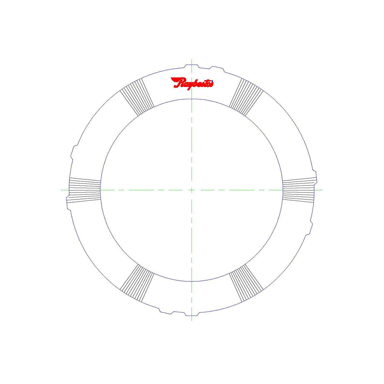 511499 | 1995-ON Steel Clutch Plate Reverse, Waved