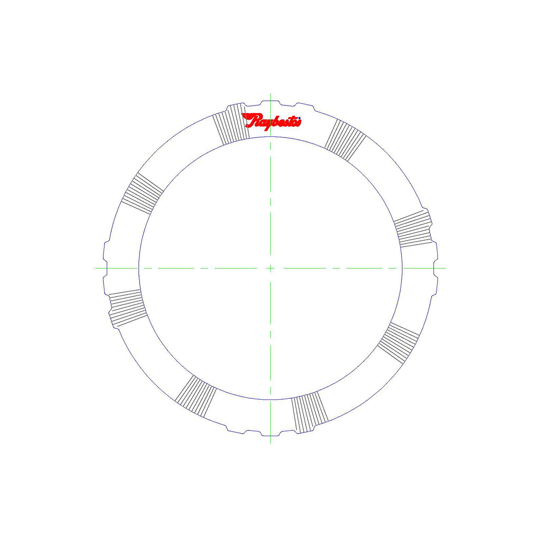 511498 | 1995-ON Steel Clutch Plate Forward, Waved