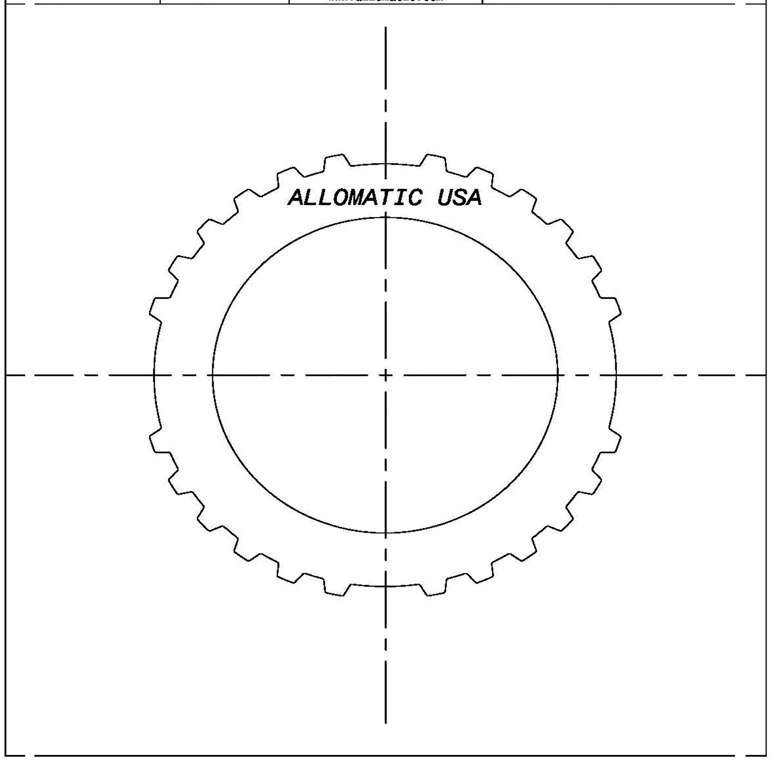 51K502 | 1980-1990 Kolene® Steel Clutch Plate Direct Kolene® High Performance