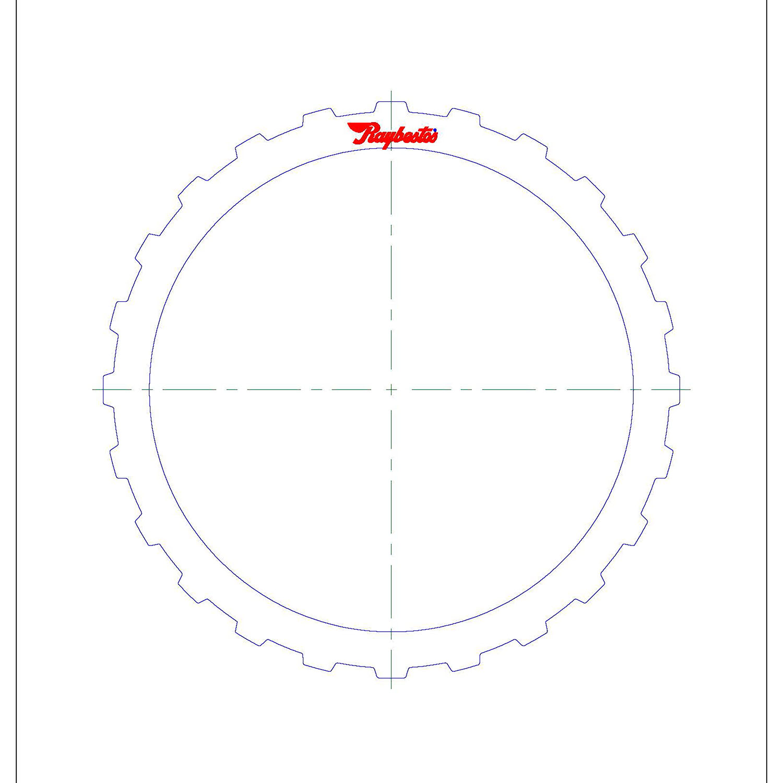 TF70SC Steel Clutch Plate