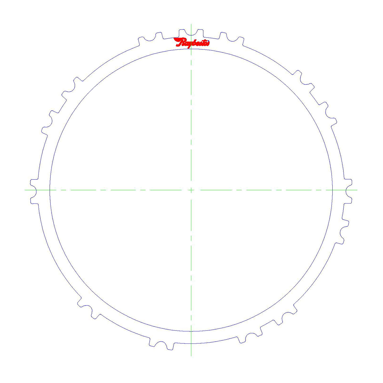 09G / TF60SN, 09K, 09M Steel Clutch Plate