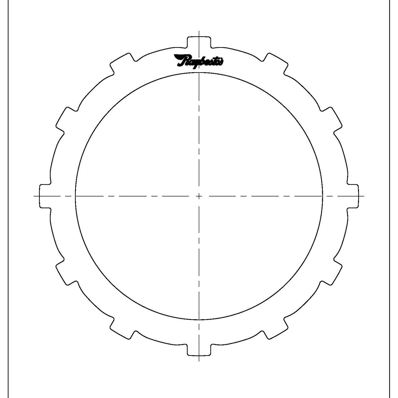 511574 | 1998-ON Steel Clutch Plate Transfer Case 4L60E, 4L80E