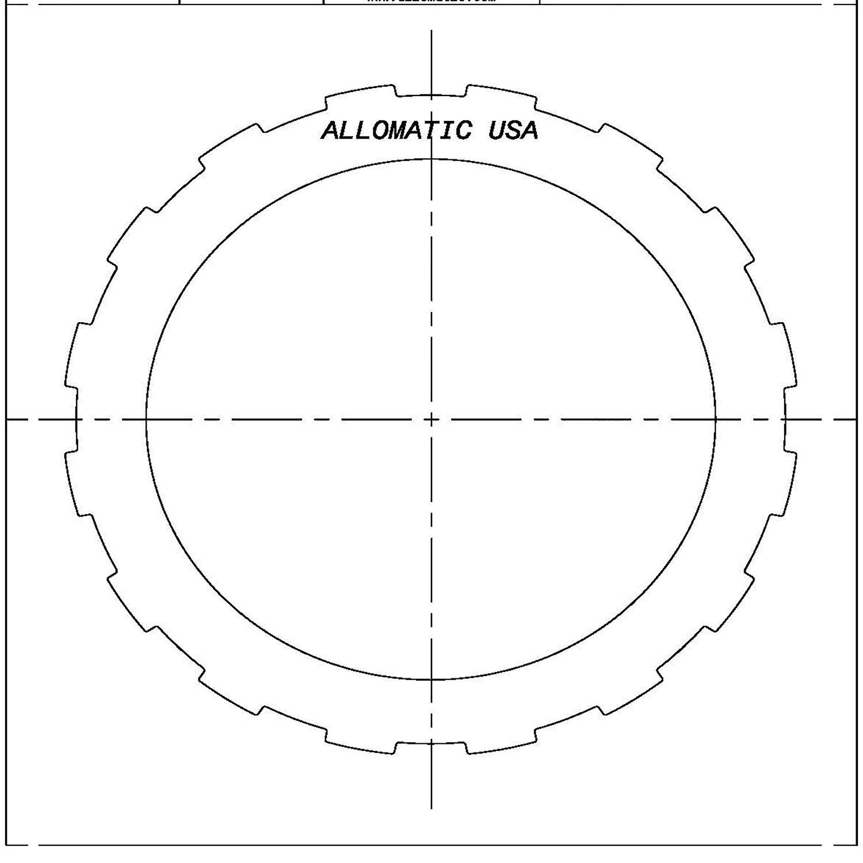 511579 | 1993-ON Steel Clutch Plate Forward Clutch