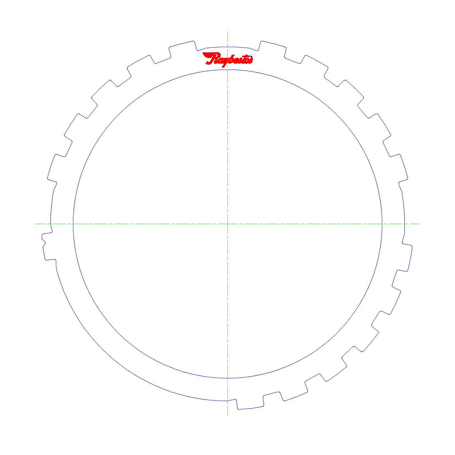 511592 | 1990-ON Steel Clutch Plate Low, Reverse Spacer