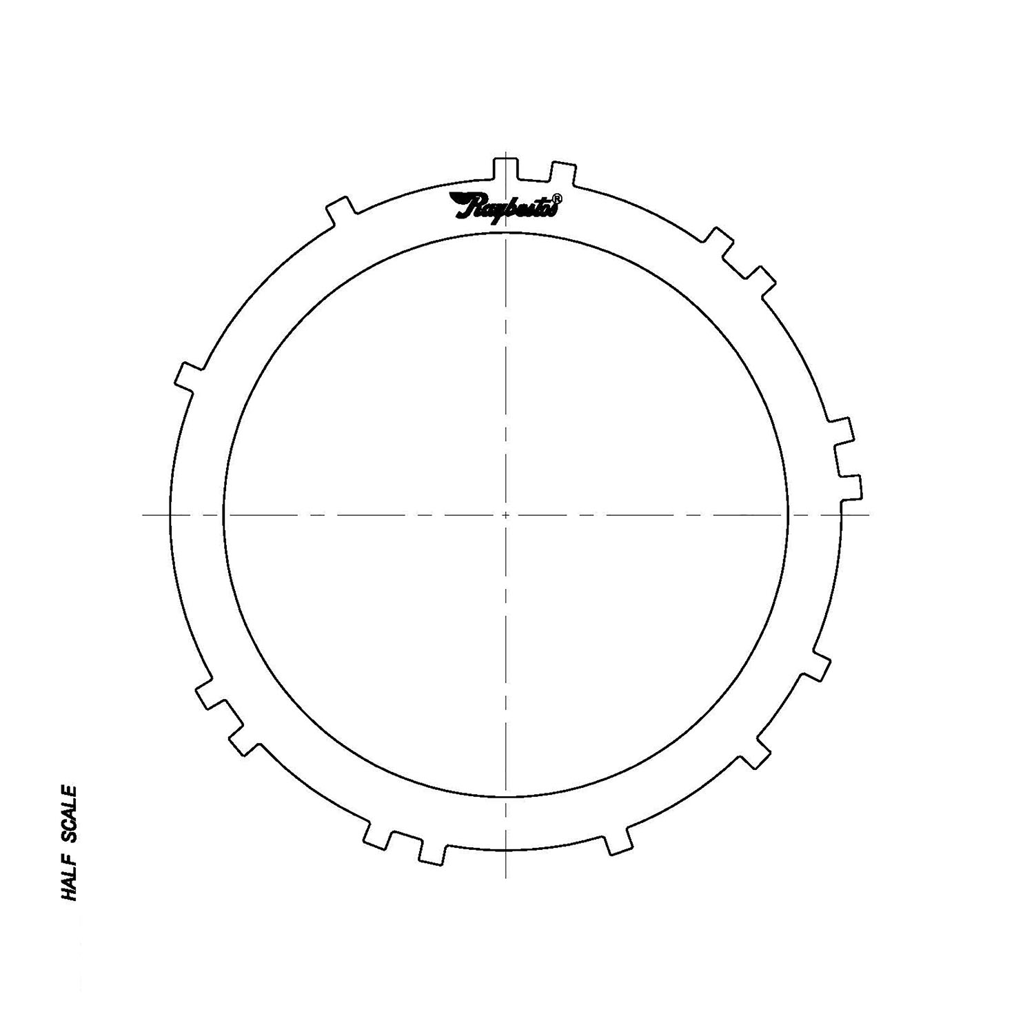 511616 | 1972-ON Steel Clutch Plate Low Range Phase 2
