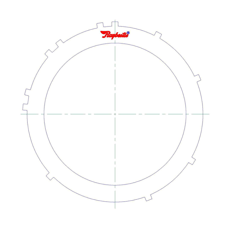 511618 | 1972-ON Steel Clutch Plate 2nd, 3rd Range