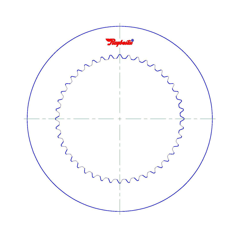 511620 | 1995-ON Steel Clutch Plate C1