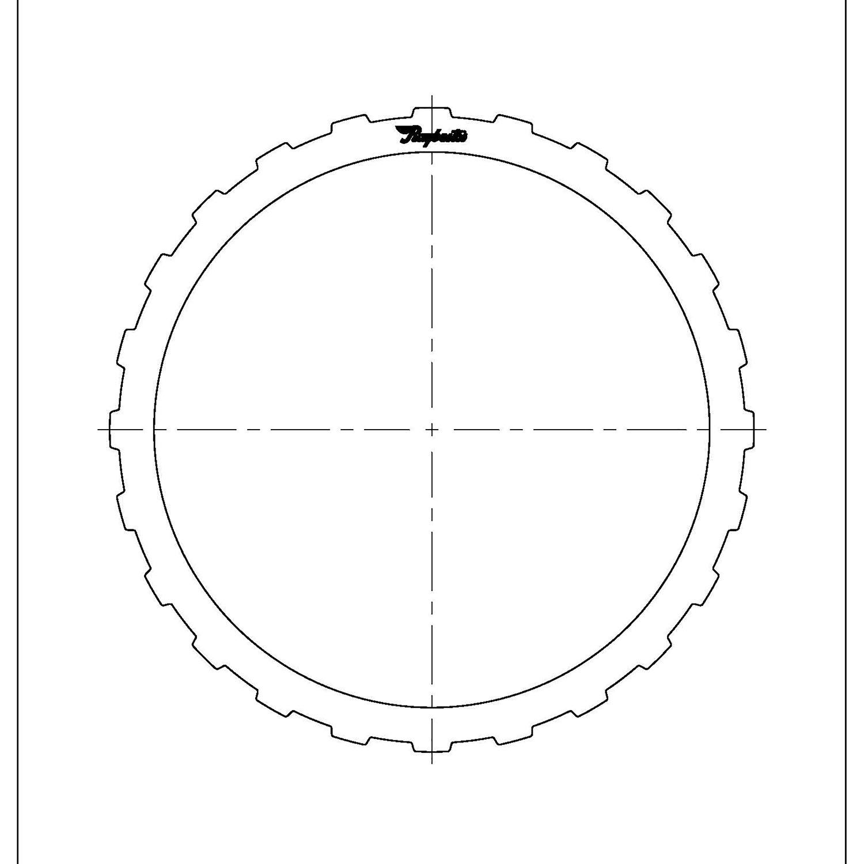 511674 | 1995-2004 Steel Clutch Plate A (Forward) Clutch