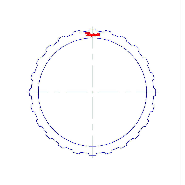 511676 | 1995-2004 Steel Clutch Plate F (Overdrive/5th) Clutch