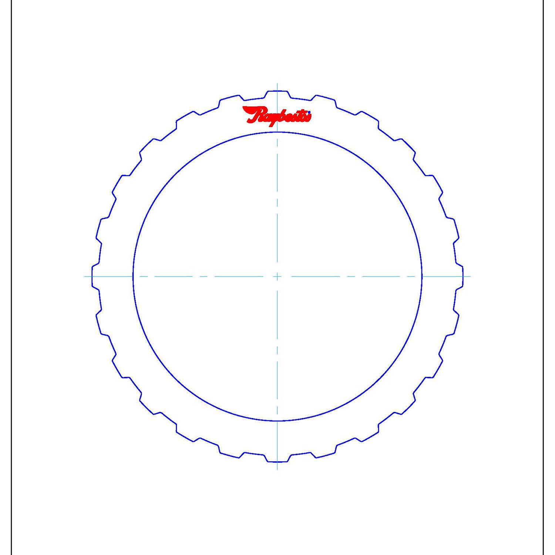 511679 | 1995-2006 Steel Clutch Plate A (Forward), C (Intermediate/Overrun) Clutch