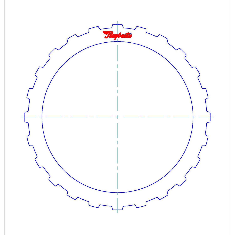 511677 | 1995-2004 Steel Clutch Plate B (Direct), D (Low/Reverse) Clutch