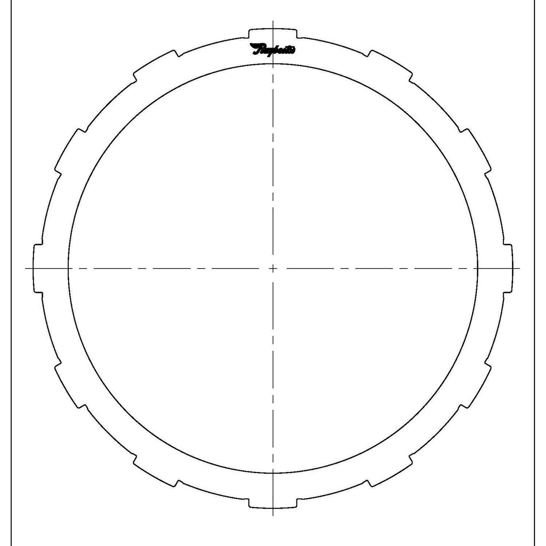 511686 | 2002-2006 Steel Clutch Plate B1, K1 Clutch