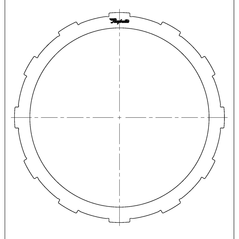511685 | 1996-2006 Steel Clutch Plate B1, K1 Clutch