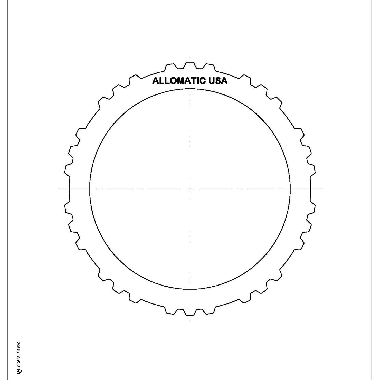 511714 | 1999-ON Steel Clutch Plate Forward