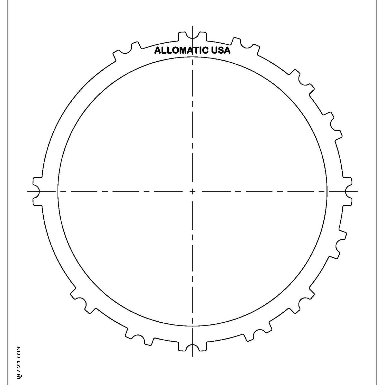 511716 | 1999-ON Steel Clutch Plate 2nd