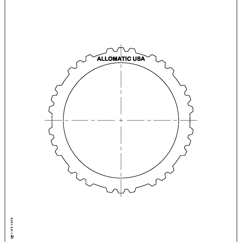 511718 | 1999-ON Steel Clutch Plate Reverse