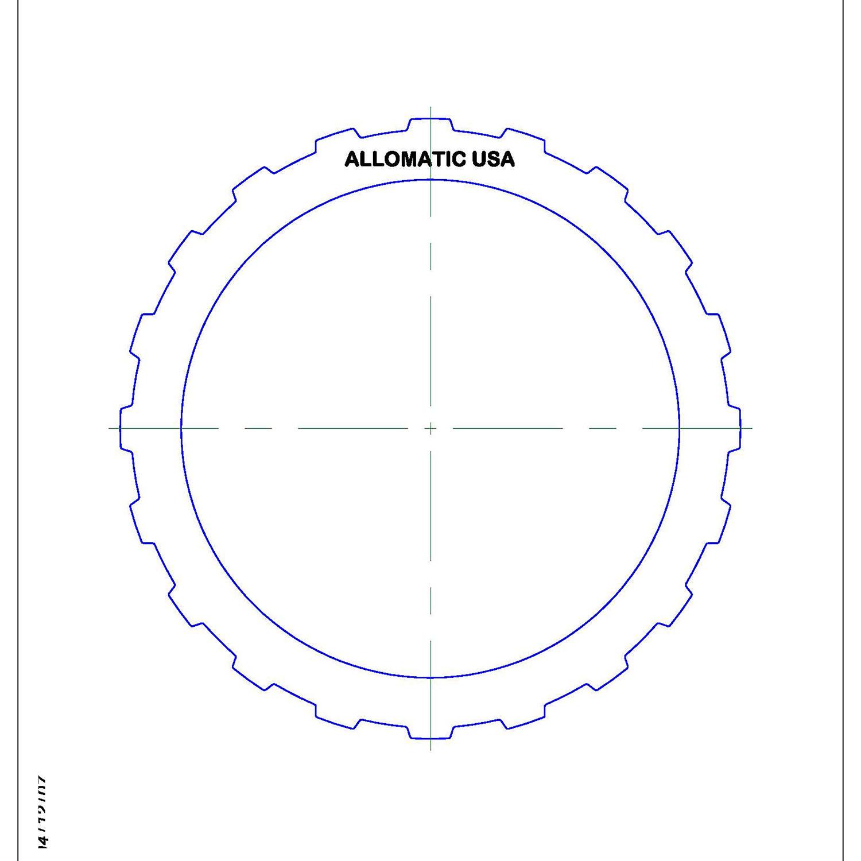 511721 | 1995-2004 Steel Clutch Plate Forward Pressure Plate