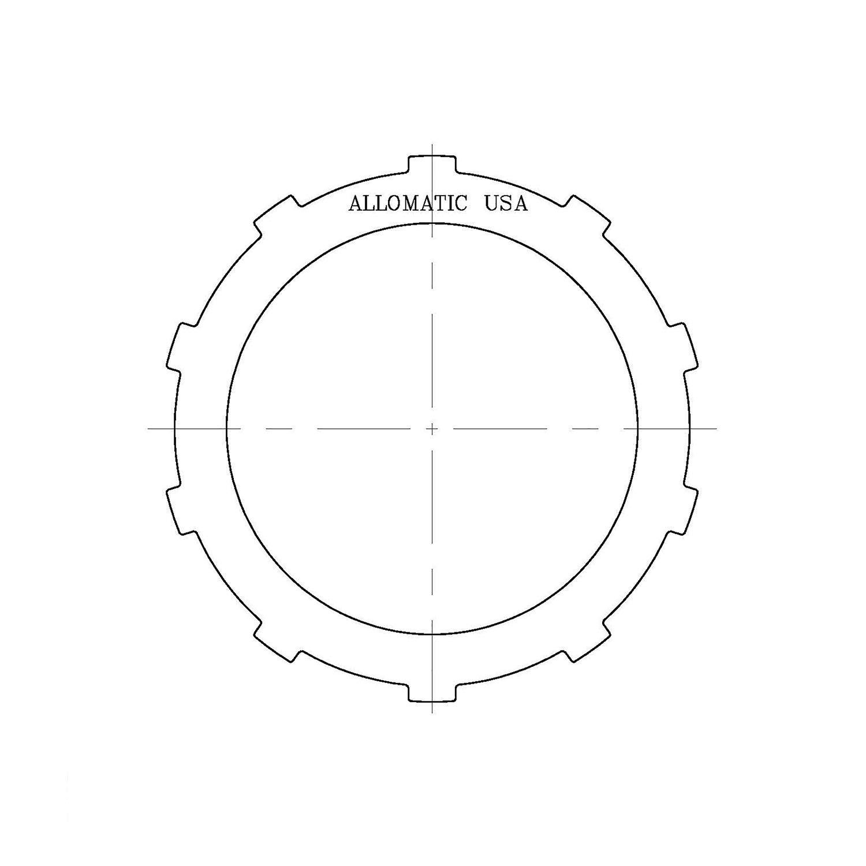 511725 | 1998-ON Steel Clutch Plate Direct