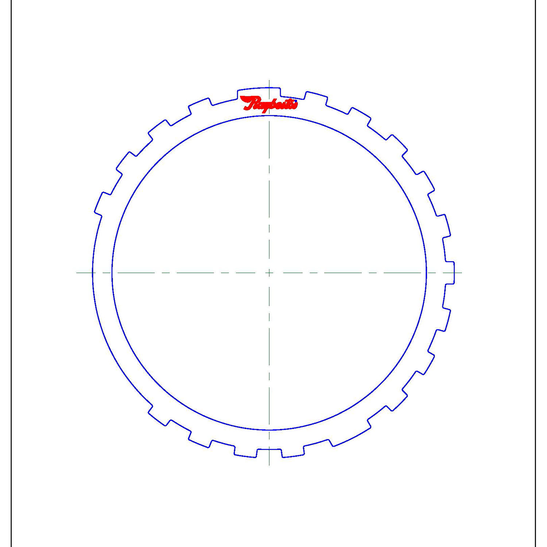 511730   1999-2003 Steel Clutch Plate Reverse Clutch (Thin)