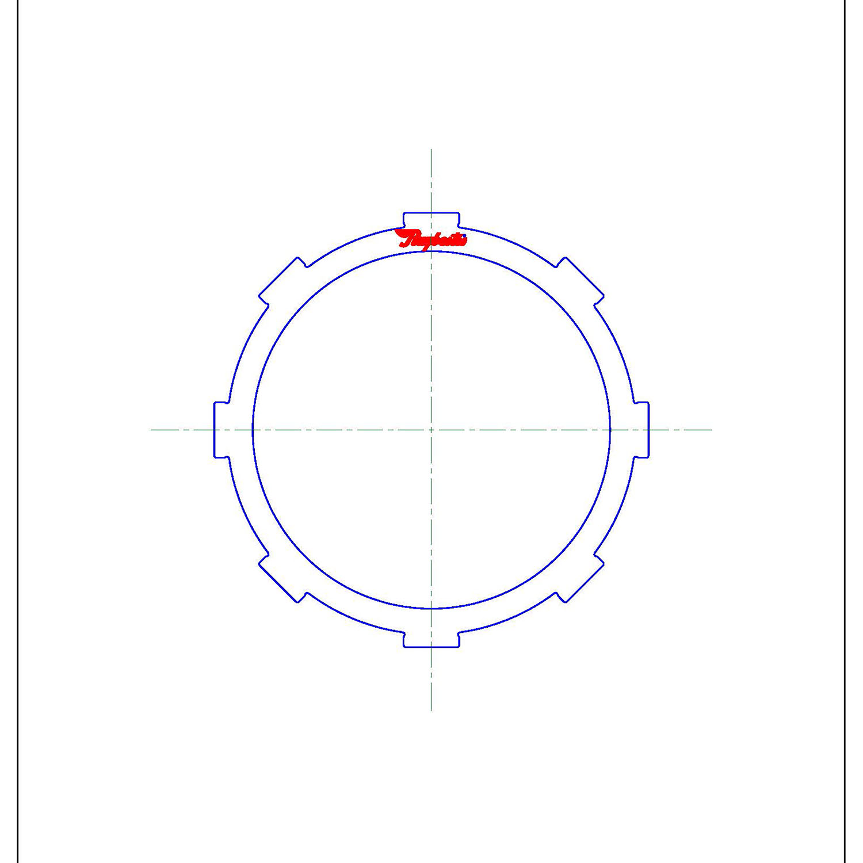 511731   1999-2003 Steel Clutch Plate Rear Clutch