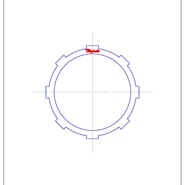 511732   1999-2003 Steel Clutch Plate Rear Clutch