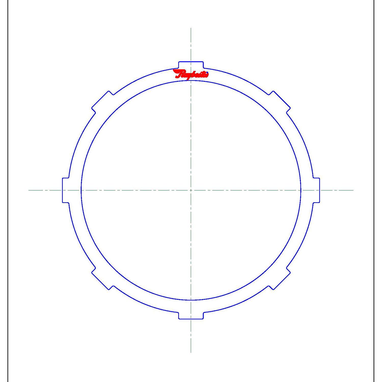 511733 | 1999-2003 Steel Clutch Plate Front Clutch