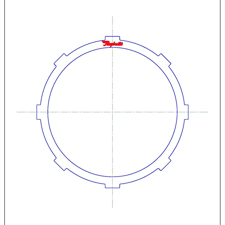 511734 | 1999-2003 Steel Clutch Plate Front Clutch