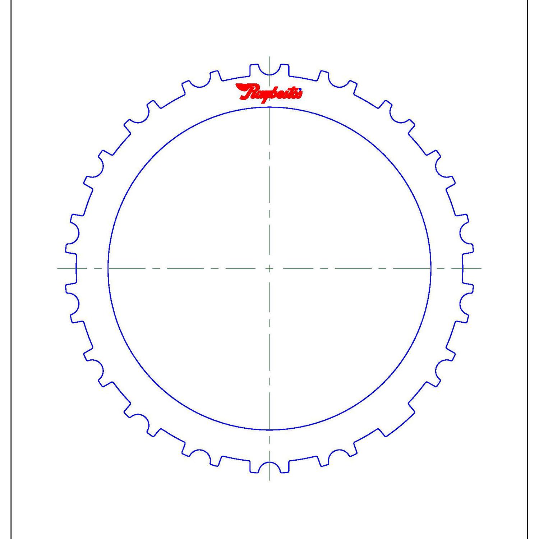 511735 | 1999-2003 Steel Clutch Plate 1-2 Brake Clutch