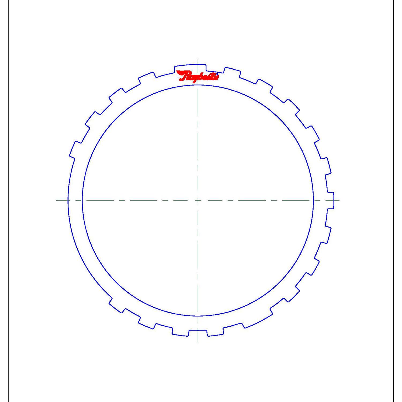 511736 | 1999-2003 Steel Clutch Plate Reverse Clutch (Thick)