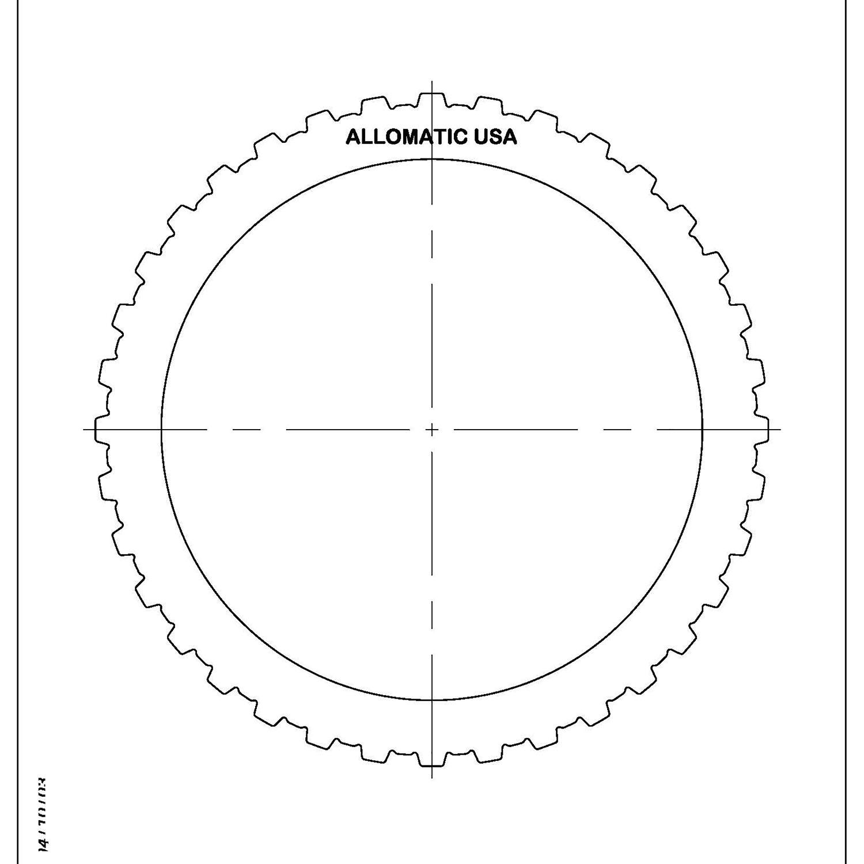 511739 | 1984-1997 Steel Clutch Plate Reverse Clutch