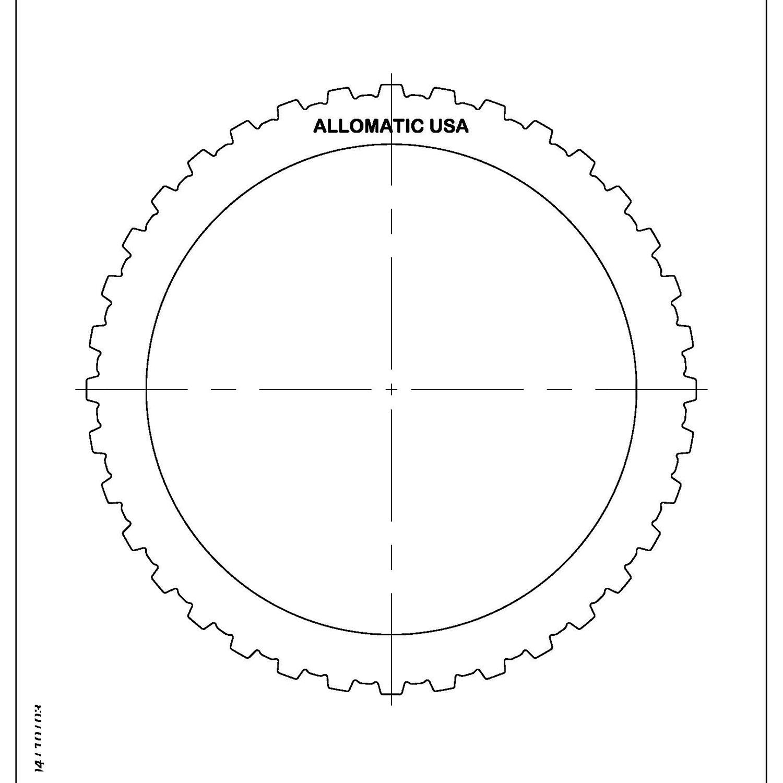 511740 | 1984-1997 Steel Clutch Plate Reverse Clutch