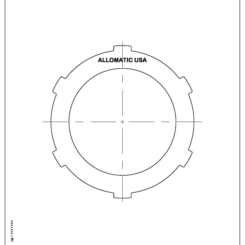 511745 | 1984-1997 Steel Clutch Plate K1 Clutch