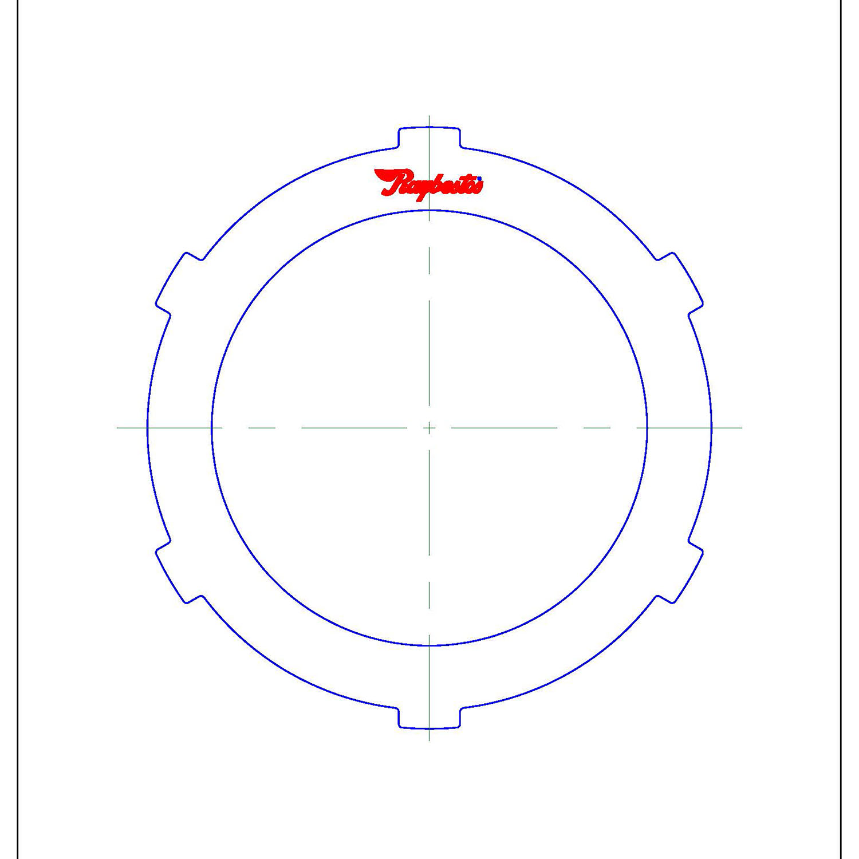 511750 | 1981-1997 Steel Clutch Plate K1 Clutch