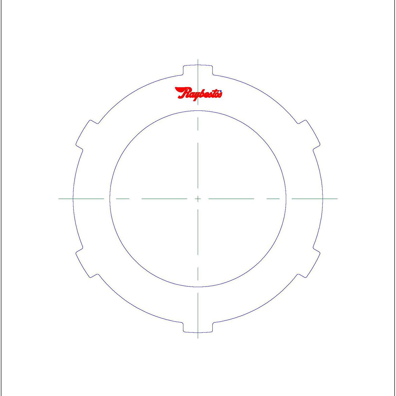 511758 | 1981-1997 Steel Clutch Plate K2 Clutch