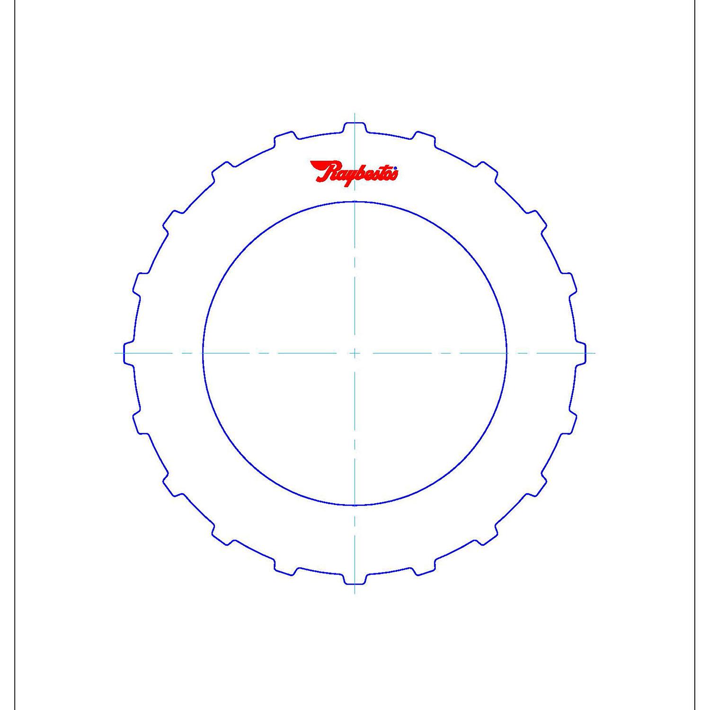 511762 | 2005-2008 Steel Clutch Plate 3rd