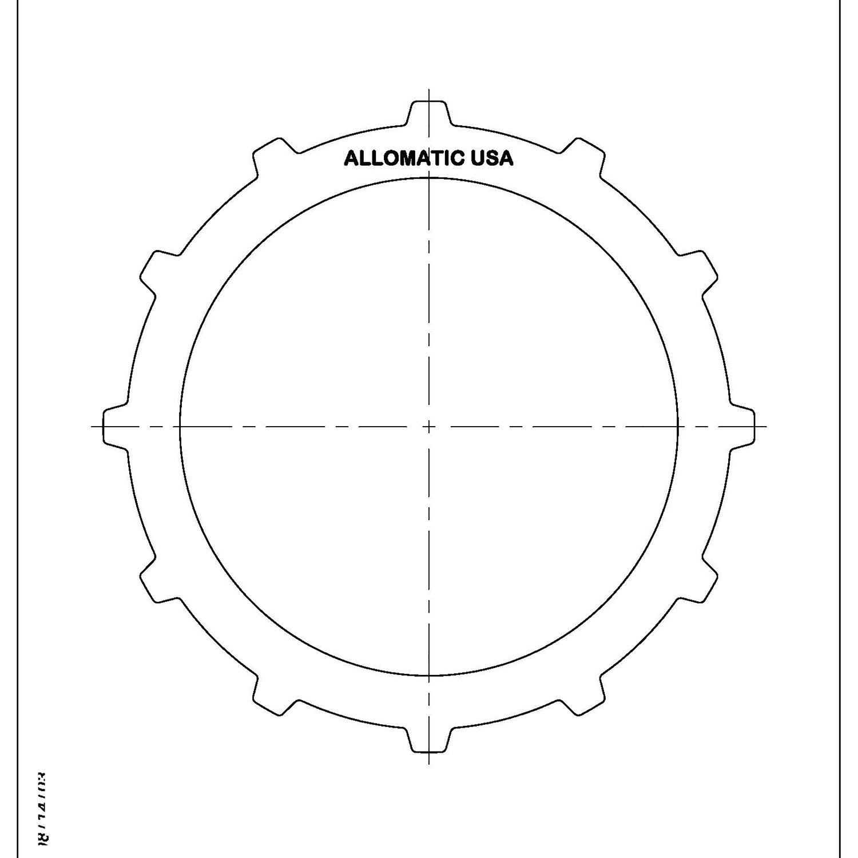 3HP-22 Steel Clutch Plate