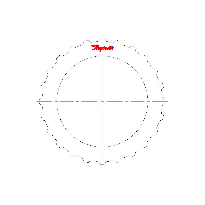 511795 | 2005-ON Steel Clutch Plate High, Low, Reverse Pressure Plate