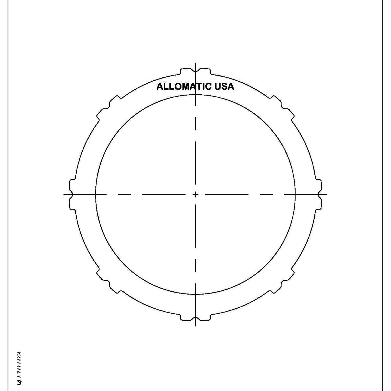 511825 | 1995-ON Steel Clutch Plate Forward