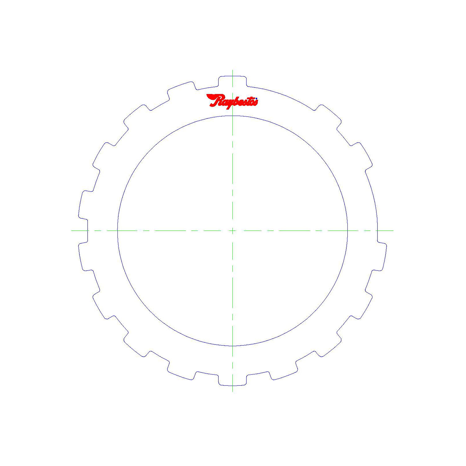 511832 | 1985-ON Steel Clutch Plate Intermediate
