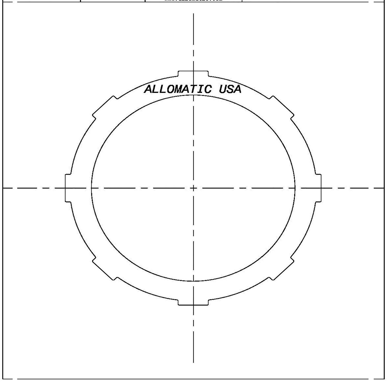 511848 | 1985-ON Steel Clutch Plate Forward