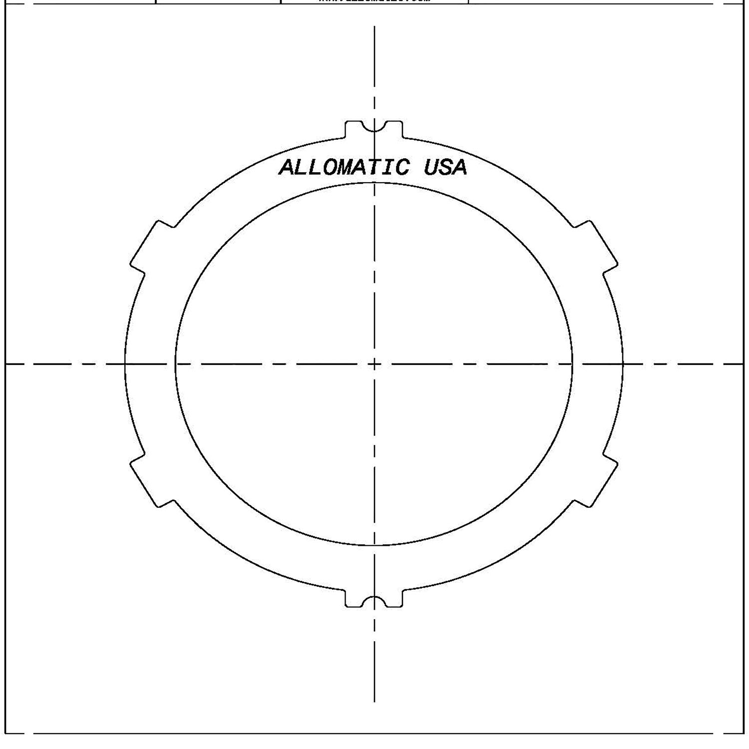 AW30-40, AW30-43LE Steel Clutch Plate