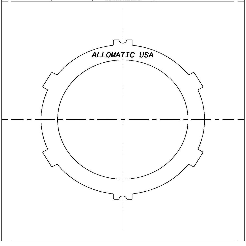511849 | 1992-ON Steel Clutch Plate Direct