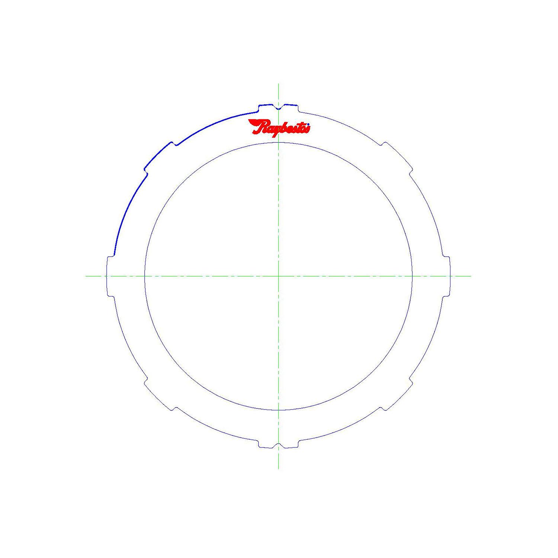 A40/41/43, A40D, A42D/DL, A43D/DE/DL, A44DE/DL, A45DF/DL, AW55/70/71, KM148, 03-72LE Steel Clutch Plate