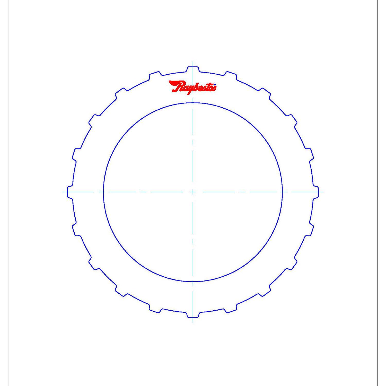511949 | 2001-2005 Steel Clutch Plate 2nd