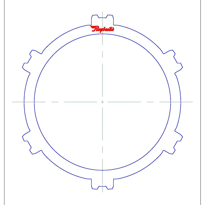 511959 | 1988-2002 Steel Clutch Plate Overrun